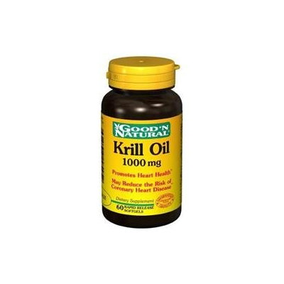 Good 'N Natural - Krill Oil 1000 mg. - 60 Softgels