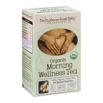 Earth Mama Angel Baby Organics Organic Morning Wellness Tea - 16 CT