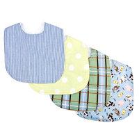 Trend Lab Baby Barnyard 4-pack Bib Set Kid's