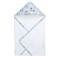 Trend Lab 102635 Bouquet Hooded Towel - Baby Barnyard