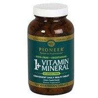 Pioneer - 1 Vitamin Mineral Iron-Free - 120 Vegetarian Tablets
