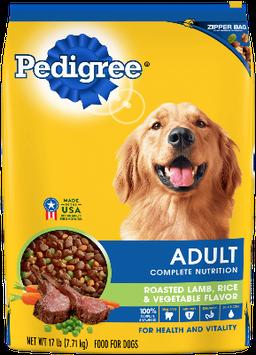 Pedigree® Adult Complete Nutrition Roasted Lamb, Rice & Vegetable Flavor