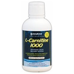 MRM Liquid L-Carnitine 1000 - Natural Vanilla Flavor