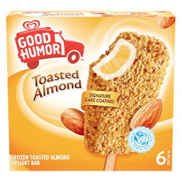 Good Humor® Toasted Almond Ice Cream Bars - 6 CT