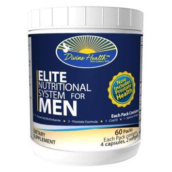 Divine Health Elite Nutritional System For Men 60 Pack