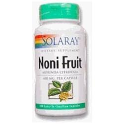 Solaray Noni Fruit - 400 mg - 100 Capsules