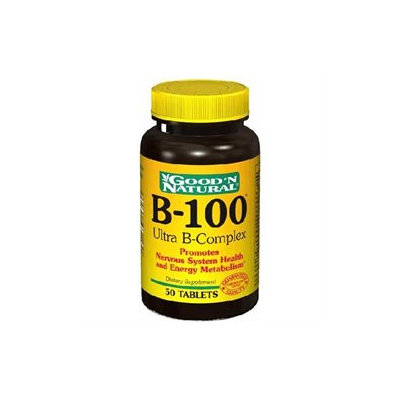 Good 'N Natural - B-100 Ultra B-Complex - 50 Tablets