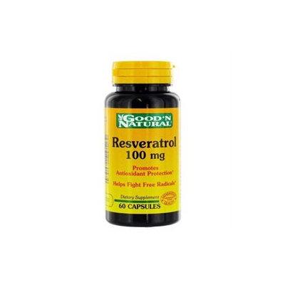 Good 'N Natural - Resveratrol 100 mg. - 60 Capsules
