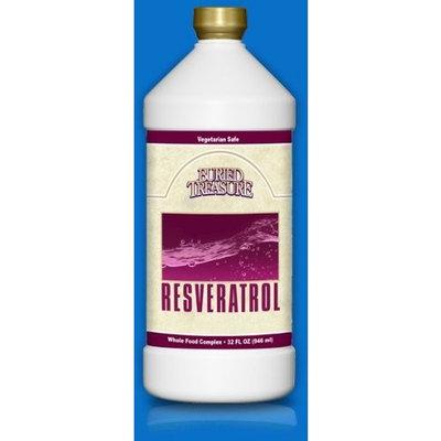 Buried Treasure Resveratrol Liquid, 32 Ounce