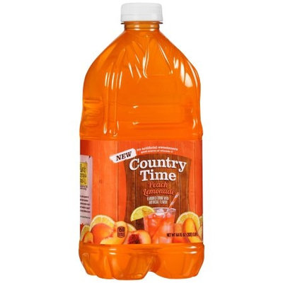 Country Time Peach Lemonade Flavored Drink Bottle