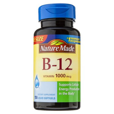 Nature Made B-12 1000 mcg Tablets - 150 Count