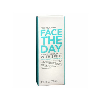 Formula 10.0.6 Face the Day Tinted Moisturizer with SPF 15