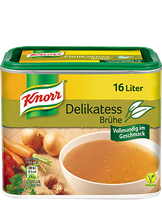 Knorr® Delikatess Broth Can