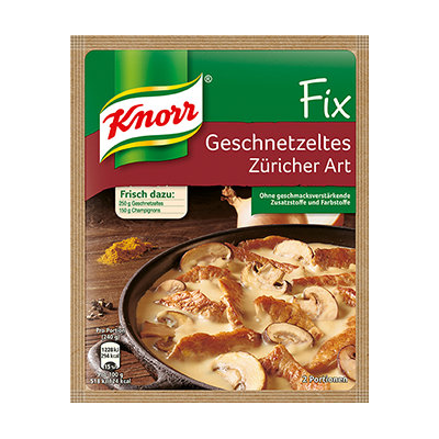 Knorr® Fix For Sliced ​​Zurich Style
