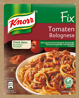Knorr® Fix For Tomato Bolognese