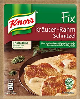 Knorr® Fix For Herb Cream Schnitzel