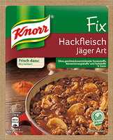 Knorr® Fix For Minced Meat Hunters Art