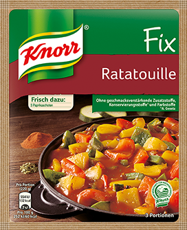 Knorr® Fix For Ratatouille Paprika Vegetables French Style