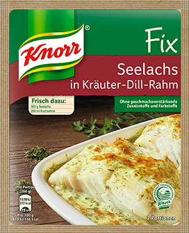 Knorr® Fix For Salmon In Herbal Dill Cream