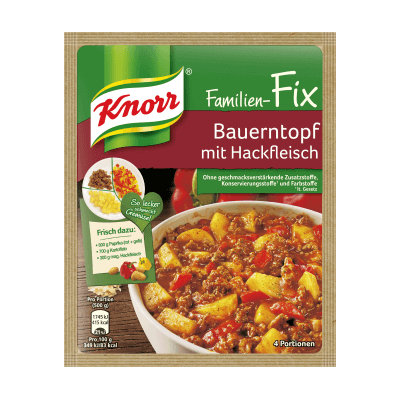 Knorr® Fix For Peasant Pot With Minced Meat