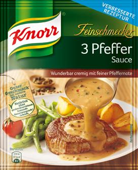 Knorr® Gourmet 3 Pepper Sauce