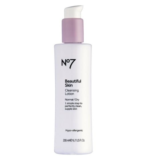 No7  Beautiful Skin Cleansing Lotion Normal/Dry