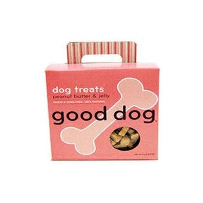 Sojos 70208 Good Dog Treats - Peanut Butter Jelly 8 Oz.