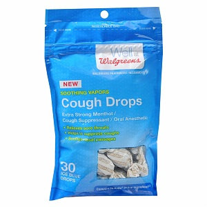 Walgreens Cough Drop Ice Blue