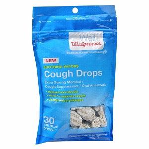 Walgreens Cough Drop Ice Blue