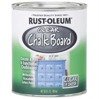 Clear Chalkboard Paint-30Oz