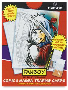 Fanboy Comic & Manga Art Trading Cards