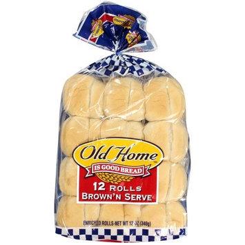 Old Home Home: Brown'n Serve Rolls, 12 Oz