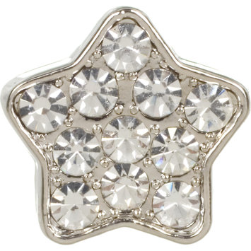 Dickens' Closet Create-a-Collar 10mm Clear Pave Star Charm