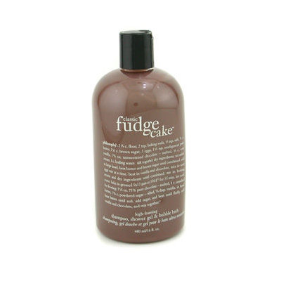 Philosophy Classic Fudge Cake™ Shampoo, Shower Gel & Bubble Bath 16 oz