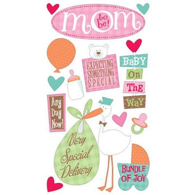 Sticko Mom-to-Be Assorted Stickers