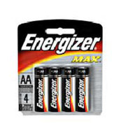 Interstate All Battery Energizer AA Battery 4-Pack