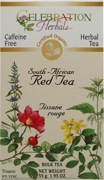 Celebration Herbals Organic South-African Red Tea Bulk Caffeine Free 1.93 oz