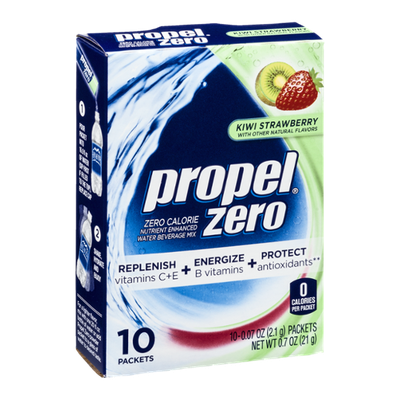 Propel Zero Packets - Kiwi Strawberry - 10 CT