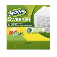Swiffer Dry Cloth with Gain, 37ct