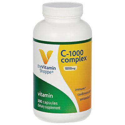 Vitamin Shoppe C-1000 Complex 1000 MG - 300 Capsules - Vitamin C Complex