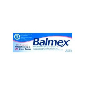 Balmex Diaper Rash Cream with Zinc Oxeie & Vitamin E, 4 Oz/ 2 Pack