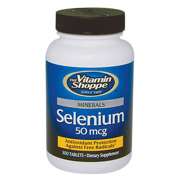 Vitamin Shoppe Selenium 50 MCG - 300 Tablets - All Other Antioxidants