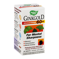 Nature's Ginkgold 60mg - 50 CT