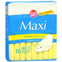 Walgreens Maxi Pads with Flexi-Wings Regular