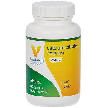 Vitamin Shoppe Calcium Citrate Complex