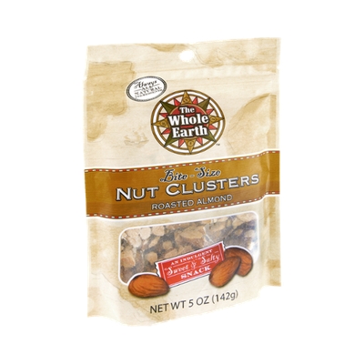 The Whole Earth Bite Size Roasted Almond Nut Clusters