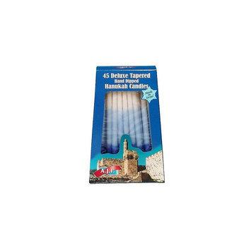 Core Distribution Hanukkah Blue Tri Color Candles