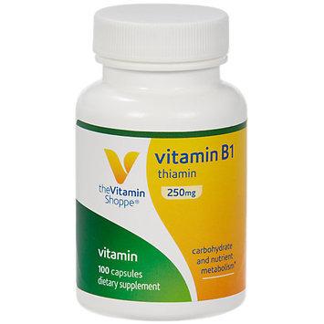 Vitamin Shoppe B-1 250 MG - 100 Capsules - Vitamin B-1