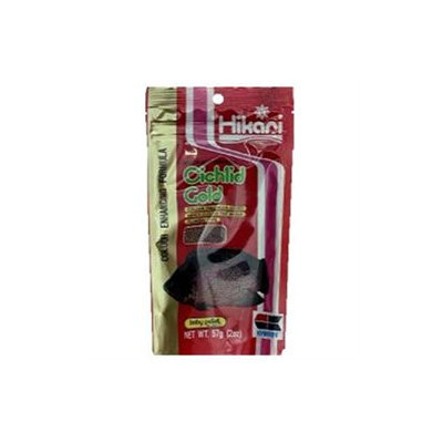 Hikari Sales Usa, Inc. Hikari Sales Cichlid Gold Gold 2 Ounces - 4111