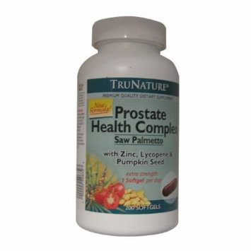 Trunature Prostate Health Complex-200 Soft Gels Bottle